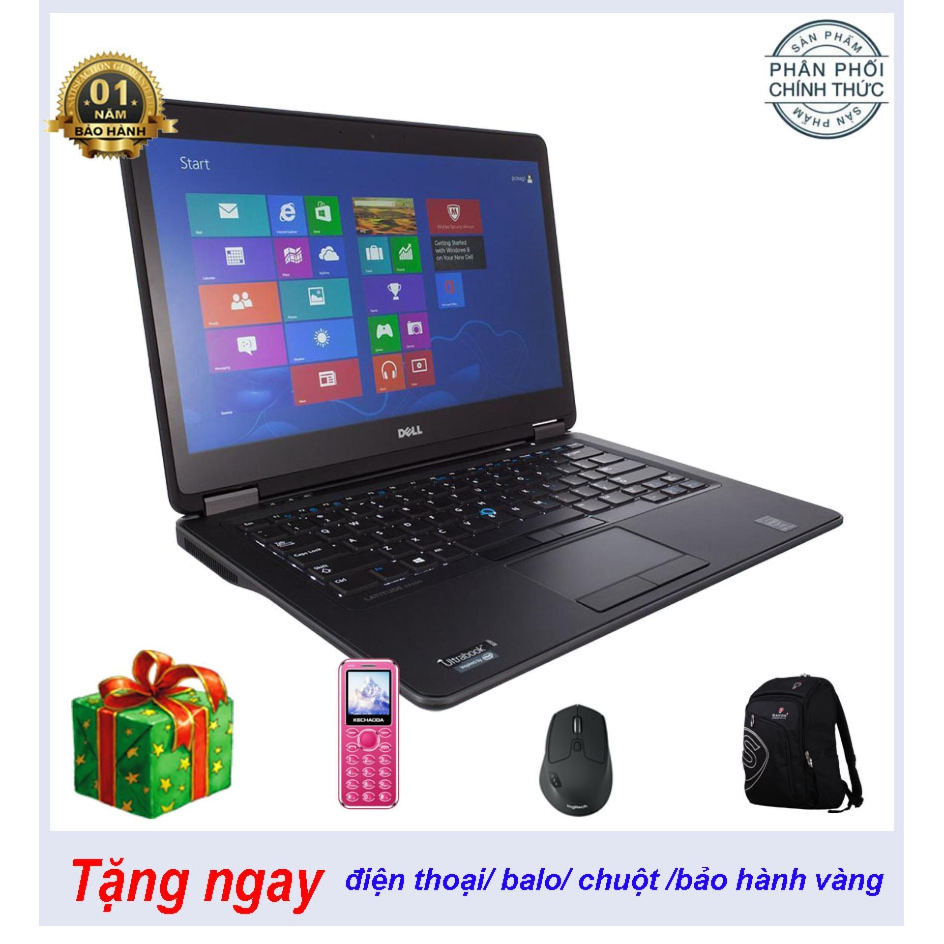 laptop Dell 7440 Nhôm mỏng nhẹ i5 4300U ram 4G HDD500G sự lựa chọn thông minh giá cực rẻ cho mua số lượng
