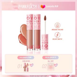 PINKFLASH Velvet Matte Liquid Lipstick Waterproof Long Lasting Lip gloss thumbnail