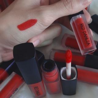 Son kem RED DAHLIA, chuẩn lỳ mượt môi, màu chuẩn đỏ velvet dùng mọi hoàn cảnh thumbnail