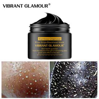 Mặt nạ tẩy mụn đầu đen than tre mới VIBRANT GLAMOUR, làm sạch sâu se khít lỗ chân lông 30g - INTL thumbnail