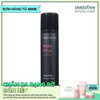 Keo xịt tóc cho nam Forest for Men Mega Hold Hair Spray 150ml