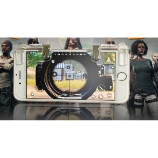 Bộ 2 Nút Bấm Cơ K01 Kim Loại Trong Suốt Hỗ Trợ Chơi Game PUBG Mobile Ros Mobile 4