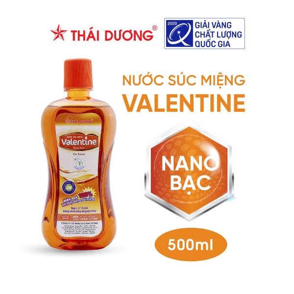 Nước Súc Miệng  Valentine Sao Thái Dương 500Ml