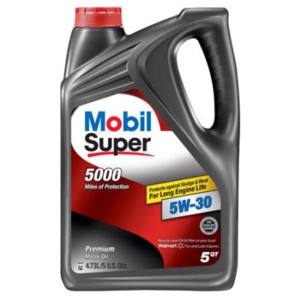 Dầu nhớt Mobil Super 5W-30 4730ml - Dầu nhớt Mobil nhập khẩu Mỹ