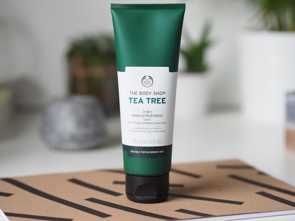 3in1 - The Body Shop Tea Tree Wash Scrub Mask 125ml