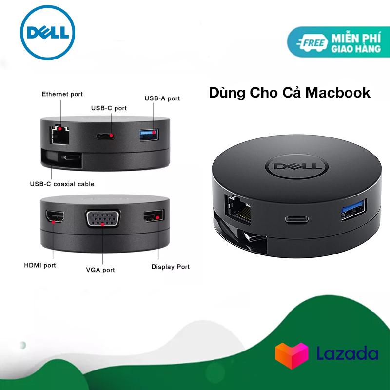 Bảng giá Bộ chuyển đổi (Hub) Dell DA300 - USB C to HDMI/VGA/DP/Ethernet/USBC/USB-A - Hàng Chính Hãng Phong Vũ