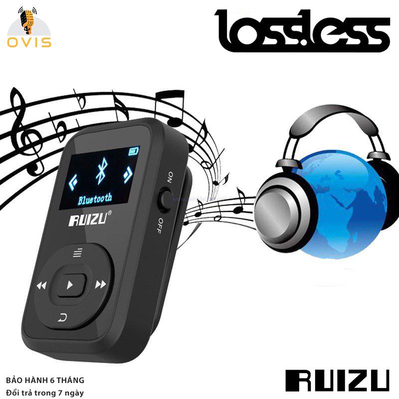 [BH 1 ĐỔI 1] Máy Nghe Nhạc Lossless Thể Thao Ruizu X26 Hỗ Trợ Ghi Âm, FM, Bluetooth 4.0 (8GB)