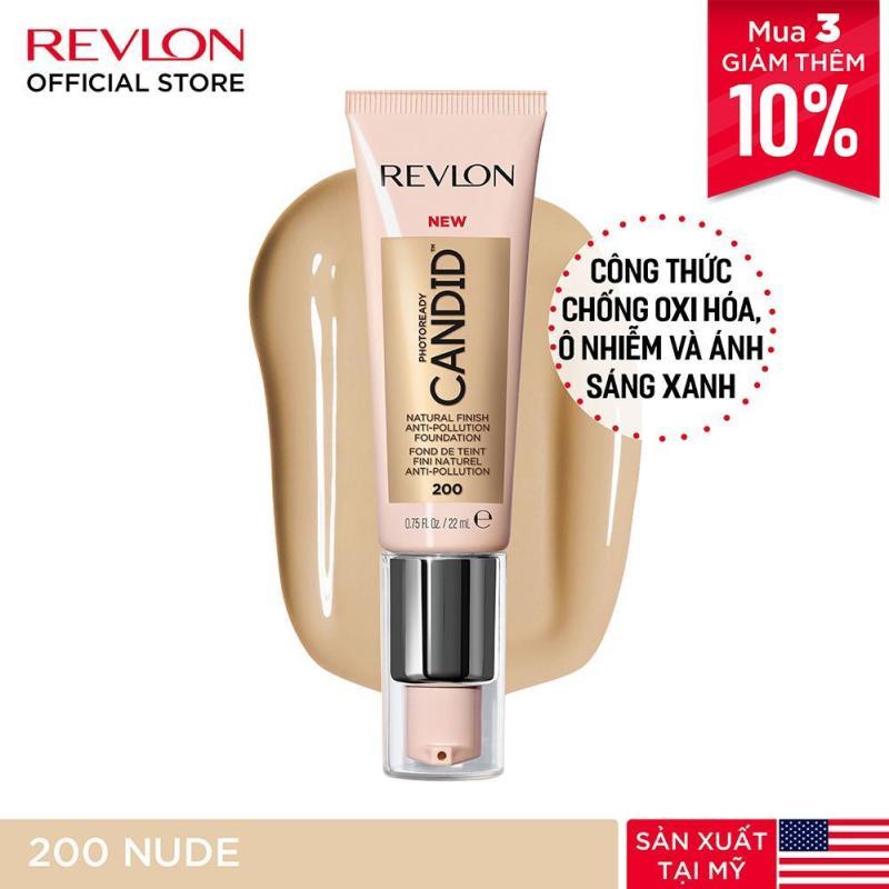 Kem nền chuyên nghiệp Revlon PhotoReady Candid™ Natural Finish Anti-pollution 22ml