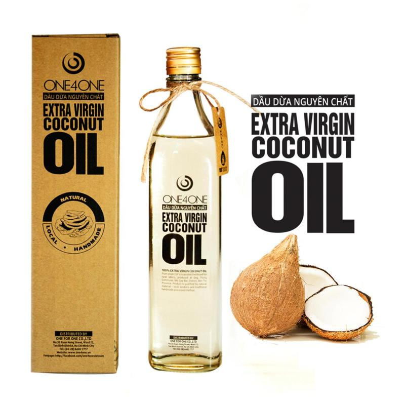 Dầu Dừa Nguyên Chất One4One 500ml - Extra Virgin Coconut Oil