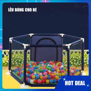 Lều bóng cho bé, thiết kế siêu an toàn chắc chắn giành cho bé vui chơi mỗi ngày, khung inox thumbnail