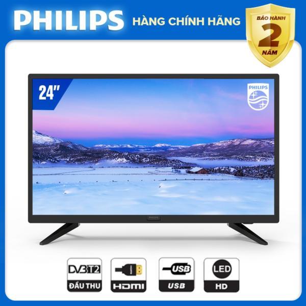 Bảng giá TIVI PHILIPS 24 INCH 24PHT4003S/74 LED HD (.DIGITAL TV DVB-T2 - HÀNG THÁI LAN) - TIVI GIÁ RẺ - TẶNG USB CỰC CHẤT 16G - BẢO HÀNH CHÍNH HÃNG 2 NĂM TẠI NHÀ.