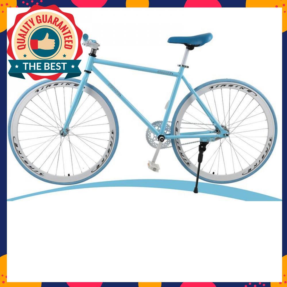 Mua Xe đạp Fixed Gear Air Bike MK78 khung hợp kim thép carbon, vành Nhôm không gỉ, săm lốp 700x23 (Xanh)