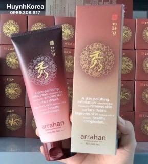 Tẩy da chết nhân sâm Arrahan Hàn Quốc 180ml thumbnail