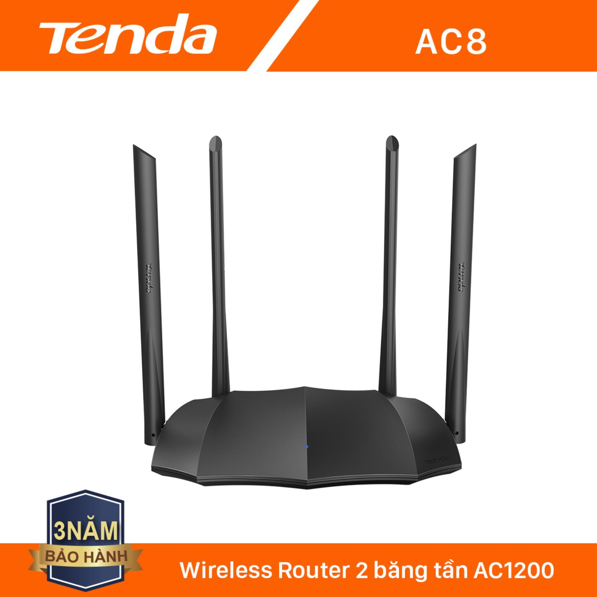 Giá Tenda Thiết bị phát Wifi AC8 Chuẩn AC 1200Mbps - Hãng phân phối chính thức