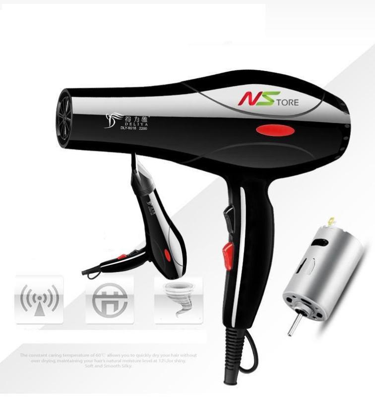 Máy sấy tóc, máy sấy tóc pana, philit, mini giá rẻ - Bán Máy sấy tóc DELIYA 8018 ( 2000W) hàng nhập khẩu bảo hành 1 đổi 1