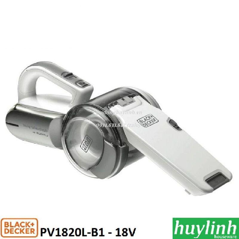Máy hút bụi cầm tay dùng pin 18V Black Decker PV1820L-B1