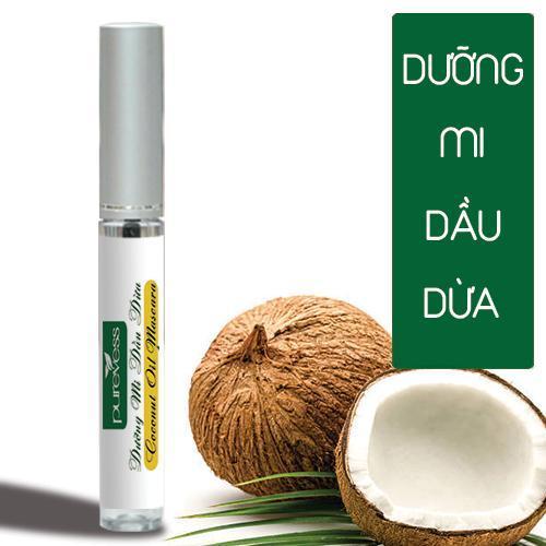 Dưỡng Mi Mascara Dầu Dừa PUREVESS | Giúp mi dài và dày hơn.
