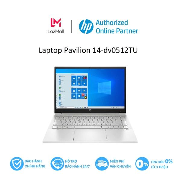 [VOUCHER 2 TRIỆU - 9/9-11/9] Laptop Pavilion 14-dv0512TU/ i5-1135G7/ 8G/ 512 SSD/ 14FHD/ Wl+BT/ 3cell/ W10/ Silver/46L81PA