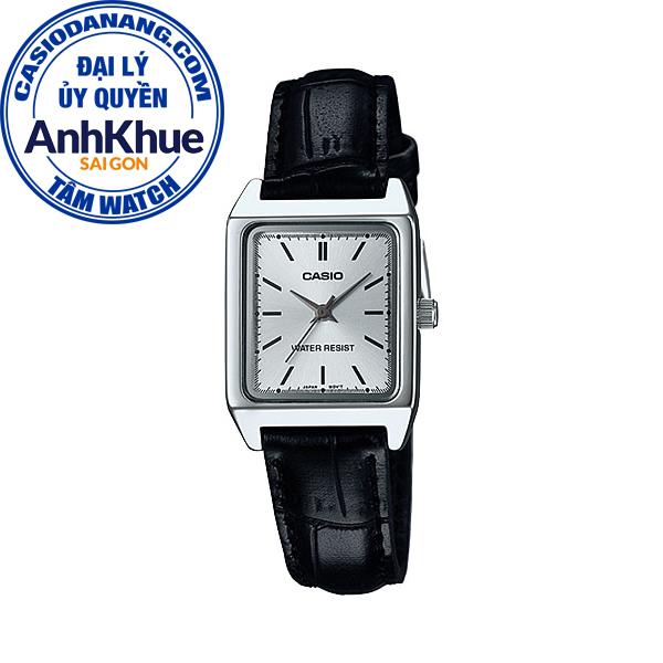 Đồng hồ nữ dây da Casio Standard chính hãng Anh Khuê LTP-V007L-7E1UDF