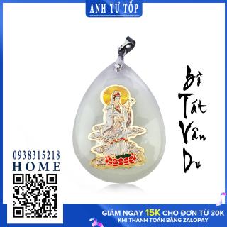 Mặt Dây Chuyền Bồ Tát Vân Du Dạ Quang 2,1 x 3,5 cm thumbnail