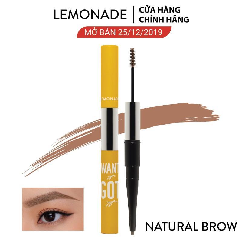 Chì kẻ mày 2 đầu Lemonade Want It Got It Dual Eyebrow 4g nhập khẩu