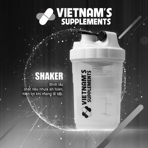 Bình lắc Shaker 3 tầng tiện lợi
