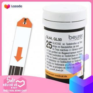 Hộp 25 que thử đường huyết Beurer GL50 thumbnail