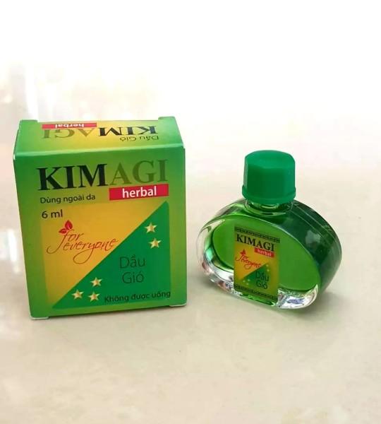[HCM]Dầu gió KIMAGI herbal - Sản phẩm của cty dược Agimexpharm cao cấp