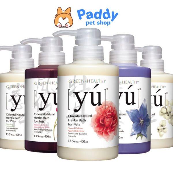 Sữa Tắm YU Spa Cho Chó Mèo Siêu Thơm & Lưu Hương Bền Lâu (400ml)