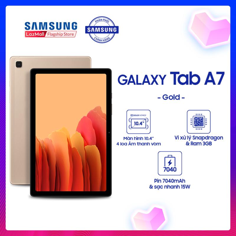 Máy tính bảng Samsung Galaxy Tab A7 (2020) tặng bao da cao cấp
