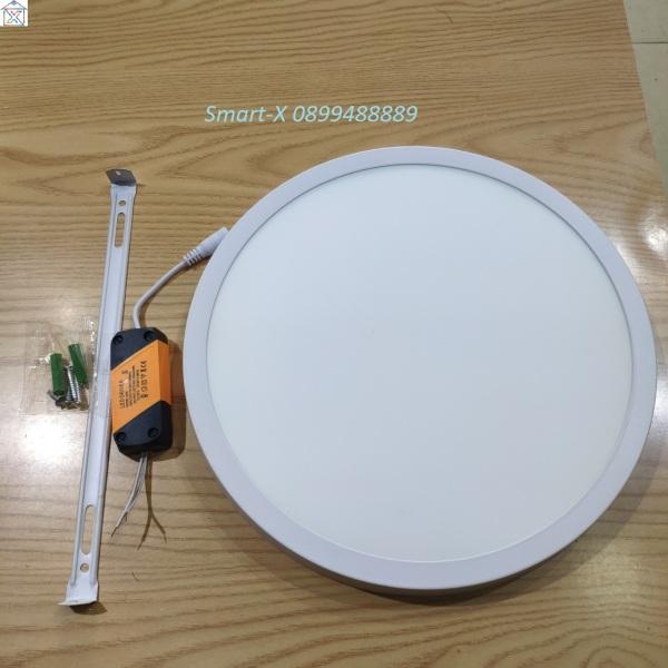 Đèn Led Ốp Trần nổi 24w Tròn hoặc Vuông. Công dụng : Ốp nổi trần chiếu sáng,trang trí. LED tiết kiệm điện,k gây nóng. Kích thước : 280mm