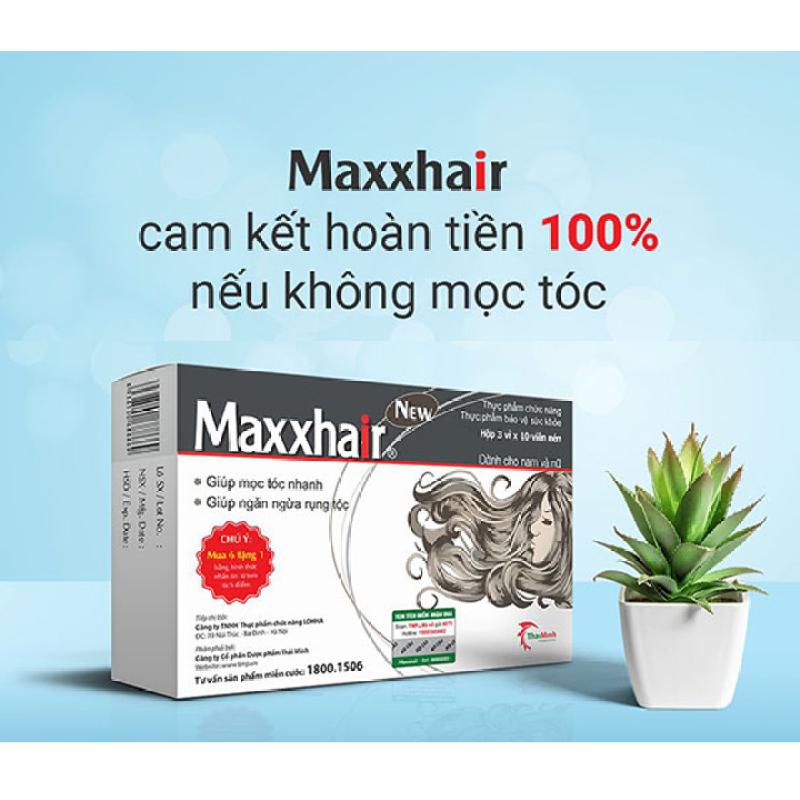 Maxxhair viên mọc tóc | Maxhair