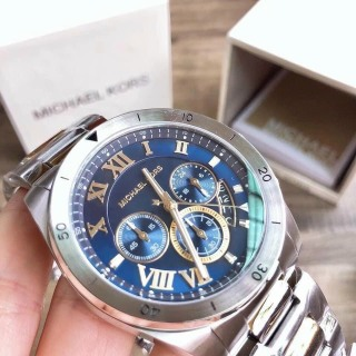 ĐỒNG HỒ Nam Michael Kors MK8562 Men s Brecken Stainless-Steel Chronograph Watch thumbnail