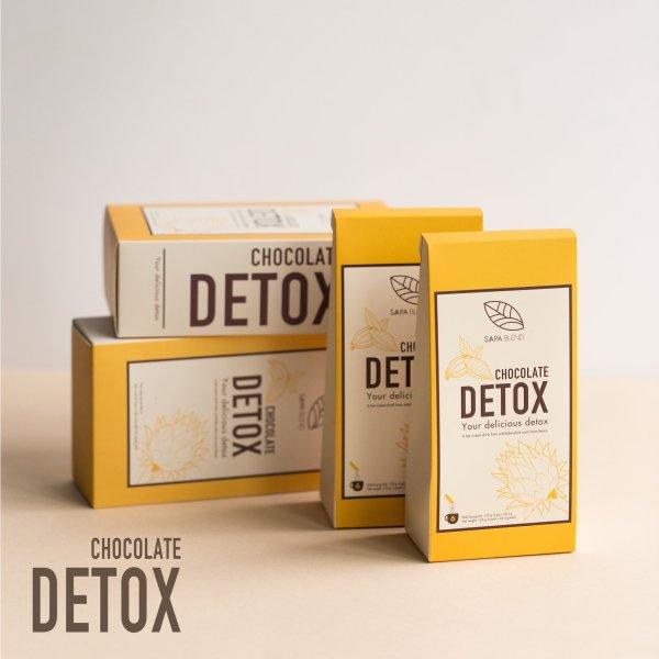 Detox Chocolate - Giảm cân, đào thải độc tố, chống lão hóa, tăng cường chức năng gan