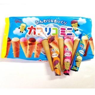 Bánh Ốc Quế Glico Nhật Bản Nhân Kem Gói 10 Chiếc Cho bé Ăn Dặm Từ 1 Tuổi thumbnail