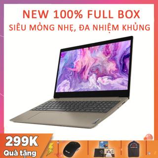 (NEW 100% FULL BOX) Lenovo IdeaPad Slim 3 (15IIL05) Gold, Siêu Phẩm Văn Phòng Rẻ Đẹp, i3-1005G1, RAM 4G, SSD NVMe 128G, VGA Intel UHD G1, màn 15.6 inch Viền Siêu Mỏng thumbnail