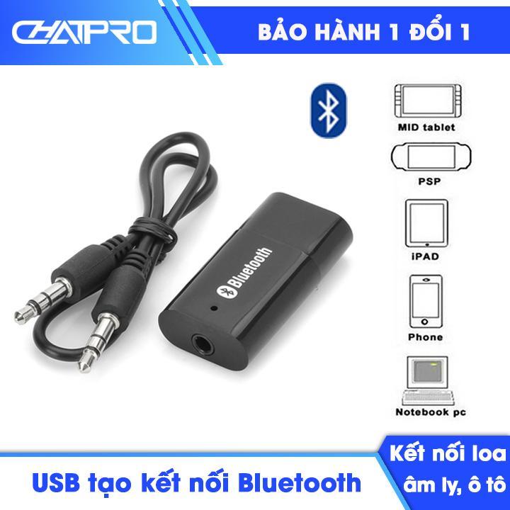 USB chuyển đổi bluetooth cho loa âm ly ô tô PT-810