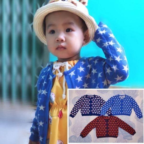 Giá bán [COMBO] 3 Áo Khoác len Bé gái, trai -XK đủ size từ 8-40Kg [trên 1 tuổi ]