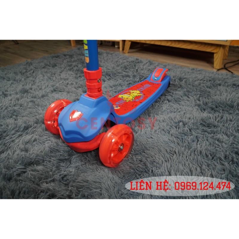 Mua Xe Scooter Trẻ Em Cao Cấp B191 Dành Cho Bé Từ 3 Đến 10 Tuổi