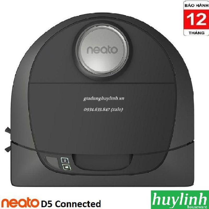 Robot hút bụi Neato D5 Connected - Điều khiển Smartphone - Chính hãng