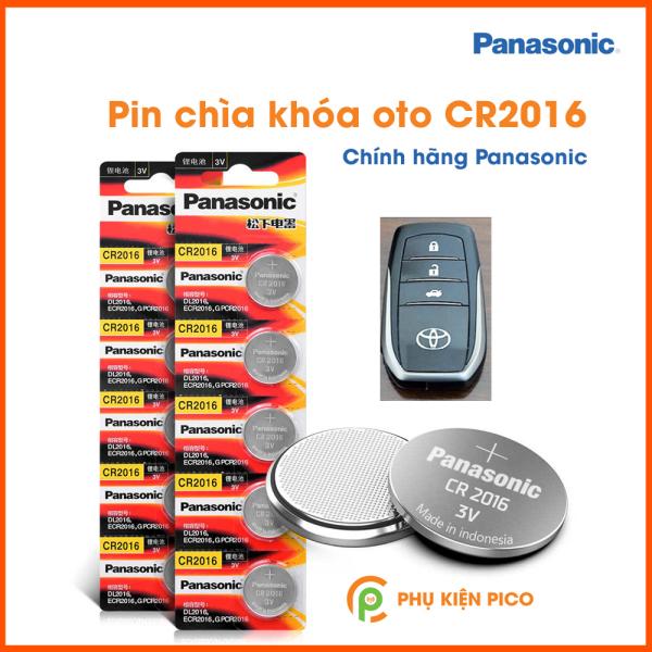 Nơi bán Pin chìa khóa ô tô xe máy nguyên gốc Panasonic 3V 1 viên CR2032, CR2025, CR1220, CR1616, CR1620, CR1632, CR2016