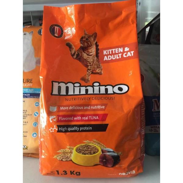 Thức ăn dạng hat cho mèo Minino ( Túi 13kg)