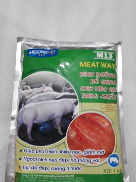 M13(Tăng trọng heo giai đoạn từ 50kg - Xuất Chuồng) 1kg