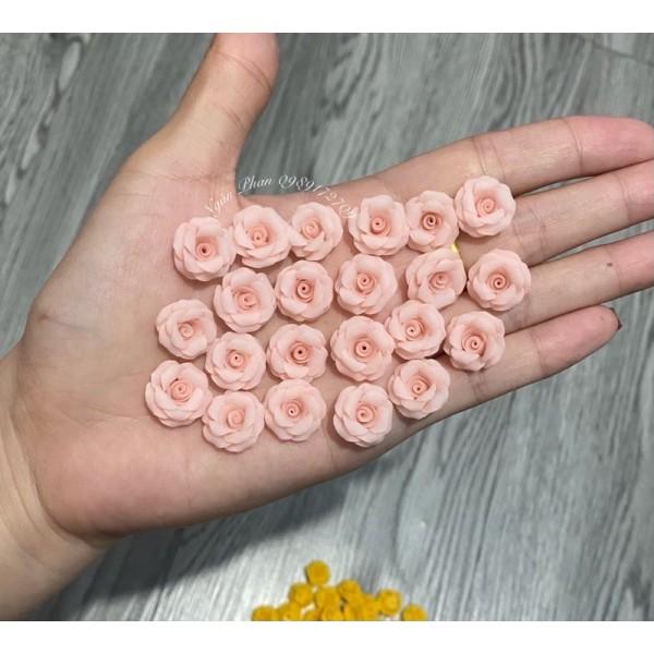 2Hoa hồng làm nail giá rẻ(chọn màu trong tin nhắn) giá rẻ