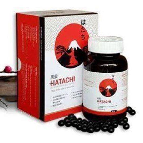 [HCM][Tặng kèm mặt nạ dưỡng trắng da]Viên uống Hatachi Plus hỗ trợ tăng cường sức khỏe bổ máu làm đen râu tóc giúp tóc chắc khỏe giảm nguy cơ tóc bạc sớm-Đông Y VN-YY1