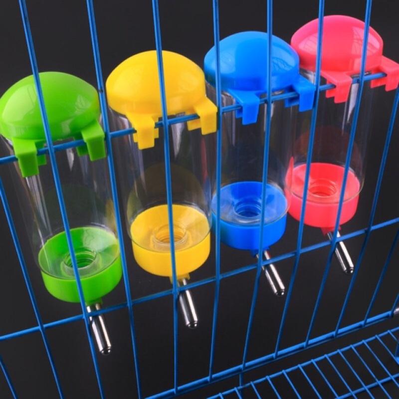 Bình nước treo chuồng cho chó mèo - bình nước bi gắn lồng 400ml 500ml cho thú cưng, đa dạng kích cỡ, chất lượng đảm bảo và cam kết hàng như mô tả