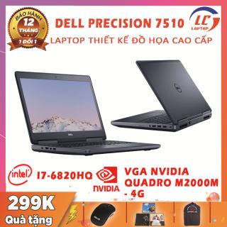 Laptop Dell Precision 7510 Đồ Họa Khủng, i7-6820HQ, VGA NVIDIA Quadro M2000M-4G, Màn 15.6 FullHD IPS, Laptop Dell, Laptop i5, Máy Trạm Đồ Họa thumbnail