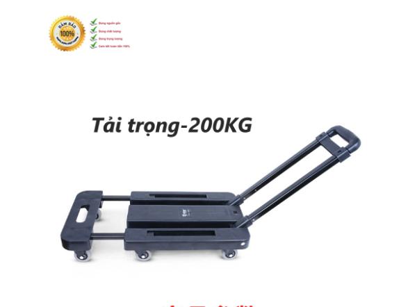 Tải trọng 200kg-Xe Kéo Hàng YTC Gấp Gọn Thông Minh Nhập Khẩu-XKT01