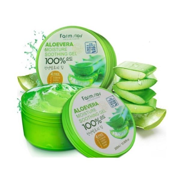 [BÁN LẺ GIÁ GỐC]  Gel Nha Đam 100% đa năng 300ml- GEL lô hội dưỡng ẩm tối ưu