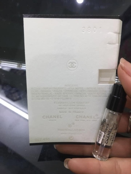 VIAL CHANEL PARIS RIVIERA EDT LIMITEF EDITION 2019 ( Xách tay Mỹ )